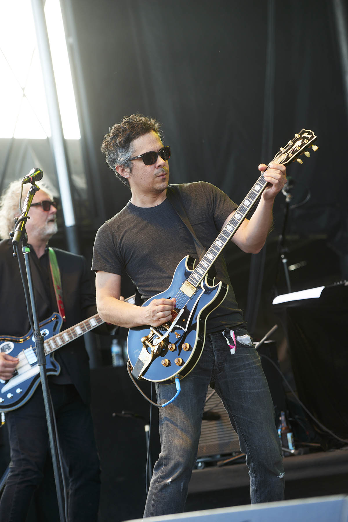 M. Ward at Rock The Garden in Minneapolis