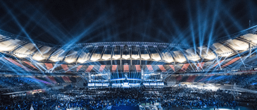 2014 World Championship Finals hosted in Sangam Stadium in South Korea