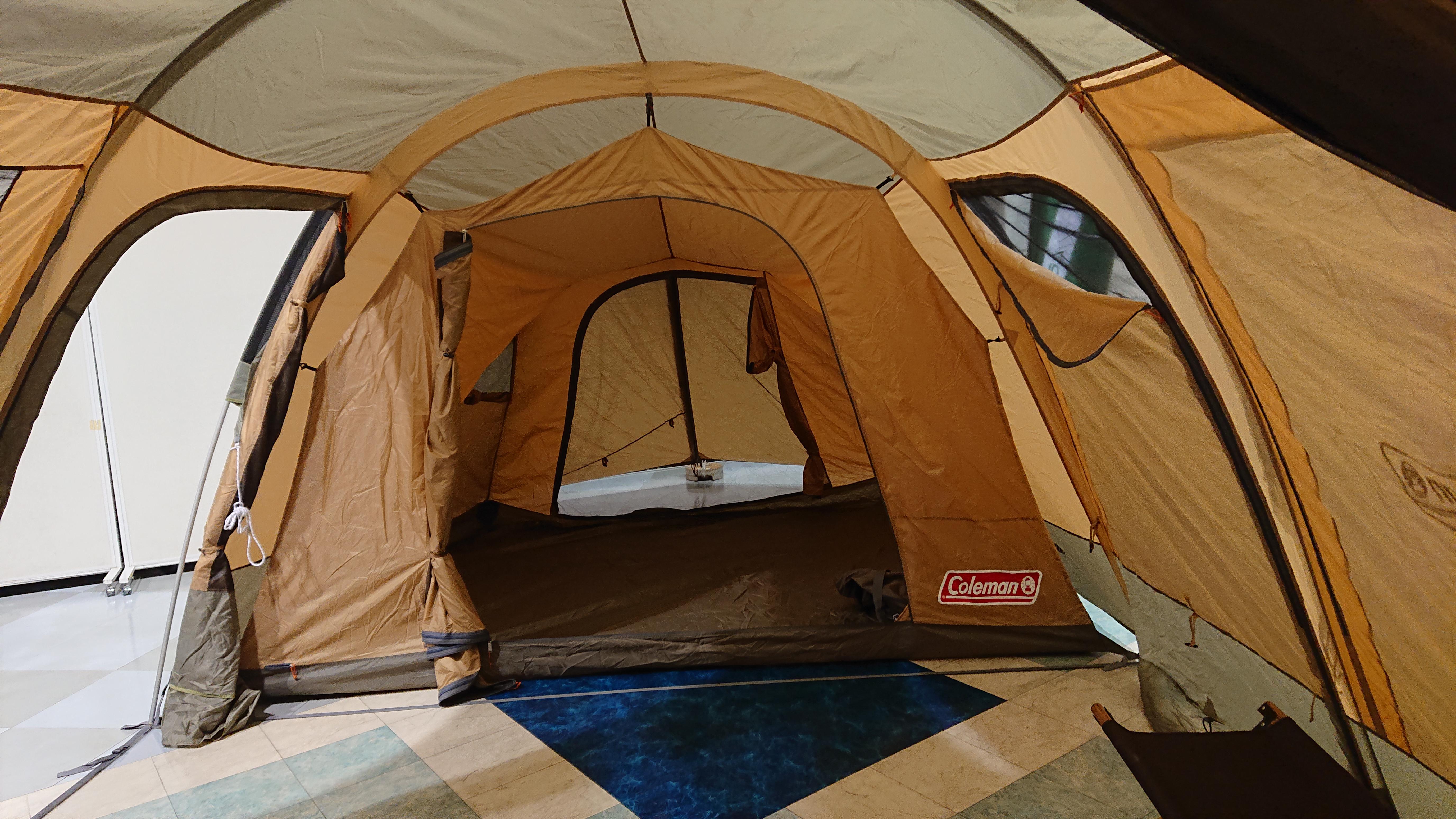 タープとしても使えるテントなら吊り下げ式ツールームテントがおすすめ!