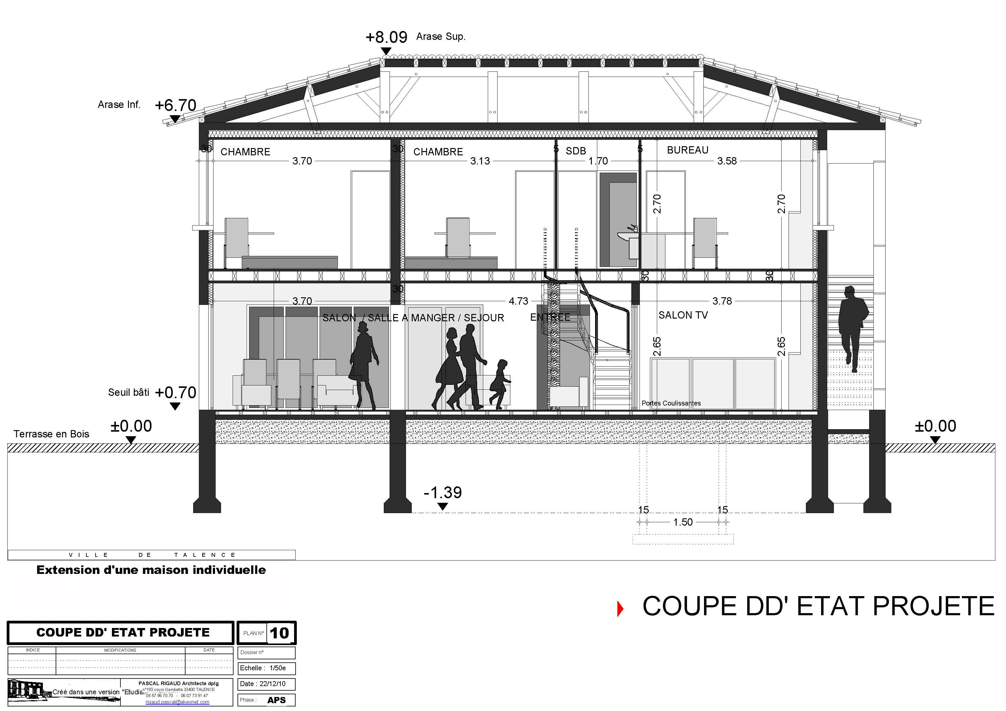 Finest Attachment Id With Plan Extension Maison 40m2