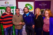 The Born To Run trainers receive their award