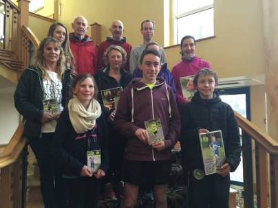 Some of the parkrun prizewinners