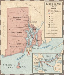 Trade in Rhode Island During the 1700s RHODE ISLAND