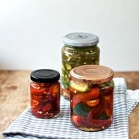 Syltede chilier - to forskellige opskrifter syltet chili