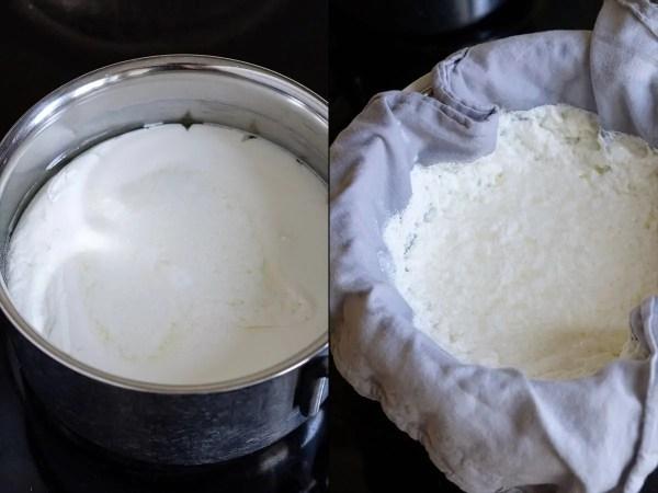 Hjemmelavet friskost på kærnemælk