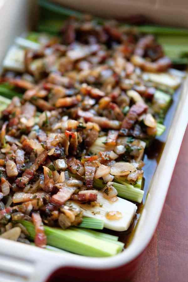Porre og bacon