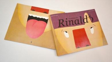 Tapa y contratapa cuento La aventura de Rinaldo