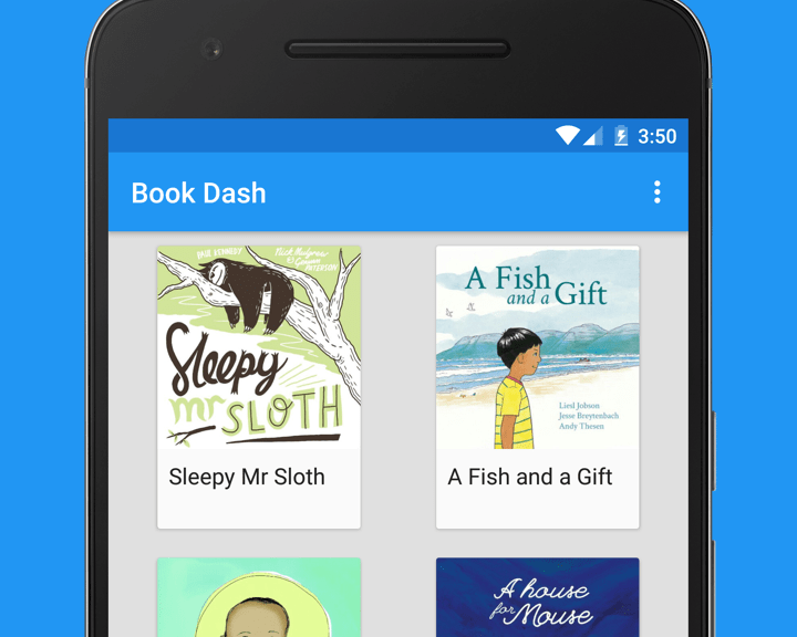 Book Dash Android App – Riggaroo - Android Dev