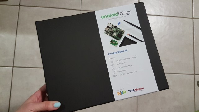 Android Things Kit at Google Developer Days Europe