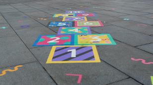 School Playground Lining