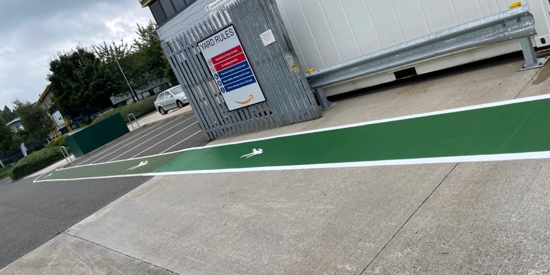 Do your footpaths and road markings meet the required legal standards?