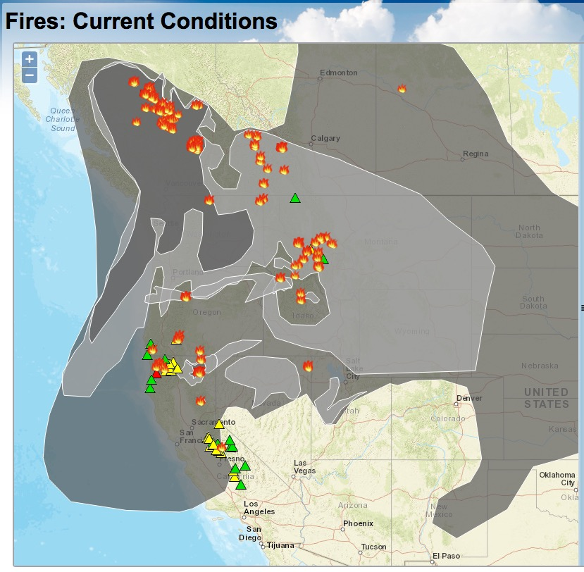 The Northwest is on Fire Again
