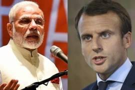 Macron & Modi