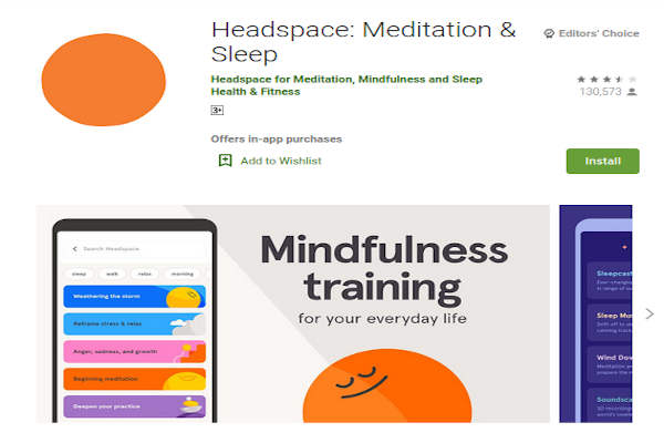 Headspace - Meditation and Sleep - FREE Meditation App to relieve stress and anxiety - RightApp4u