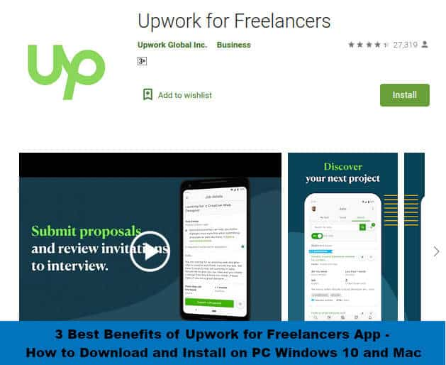 FREE Upwork for Freelancers App for Android and iOS
