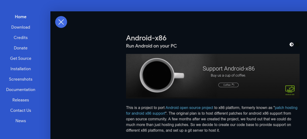 Android x86 - Android Emulator - Windows 7/8/8.1/10 PC and Mac
