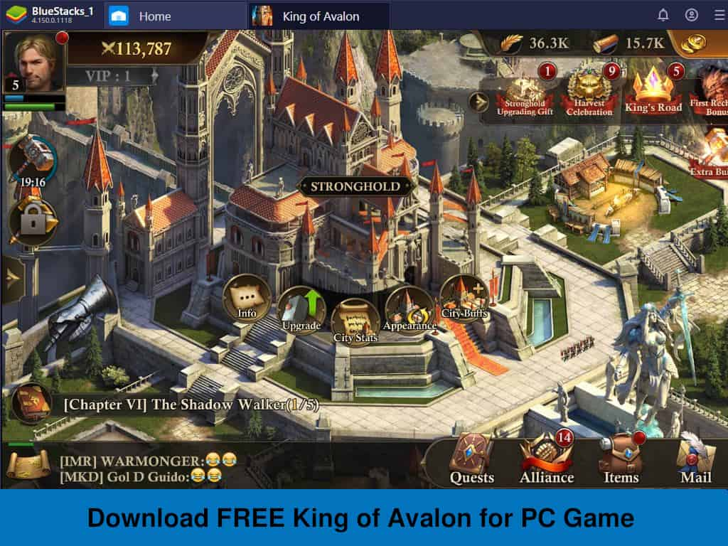 Download FREE King of Avalon for PC Game - Rightapp4u