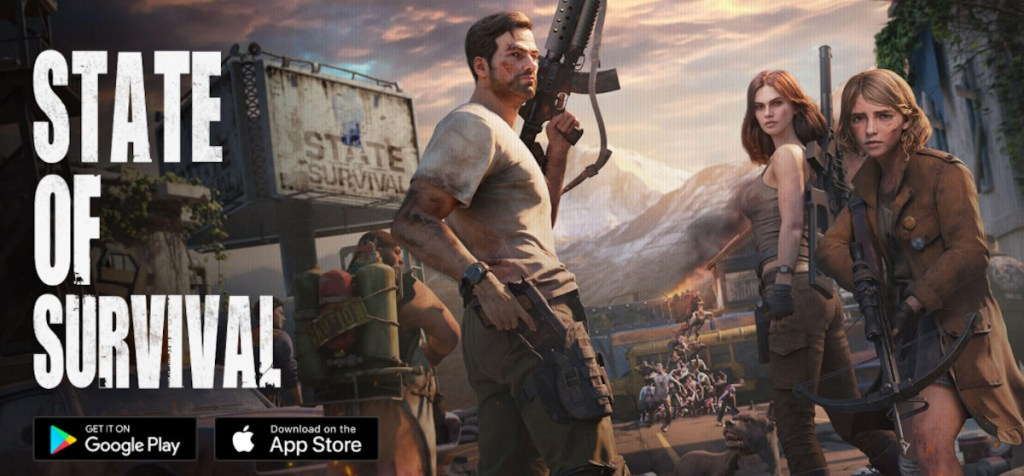 Download and install the FREE mobile game State of Survival for PC using Android Emulators
