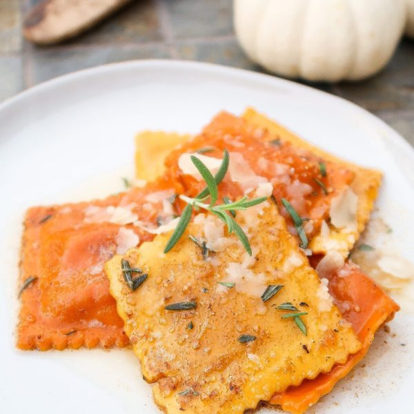 Brown Butter Pumpkin Ravioli
