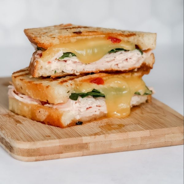 Pepper Jelly Turkey Panini