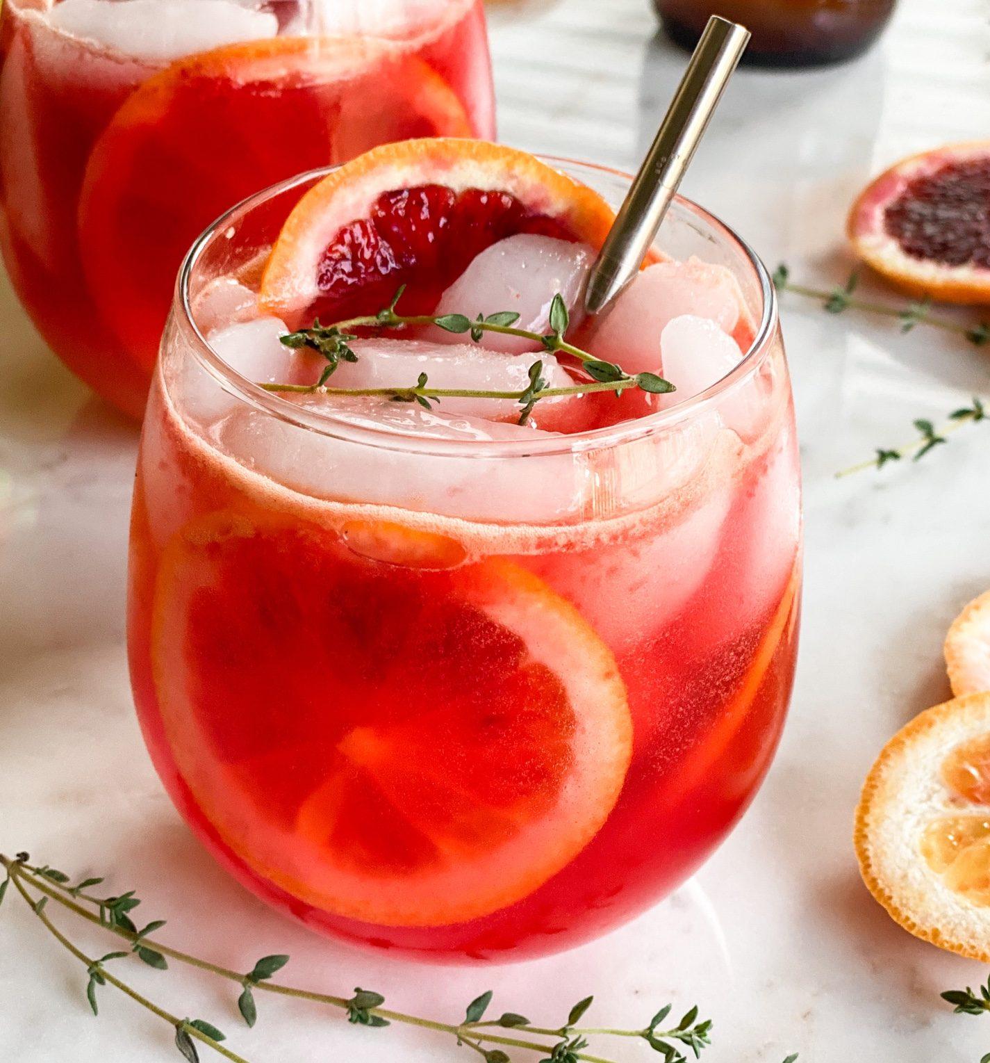 It's Thyme for Blood Orange Cocktail Season!!