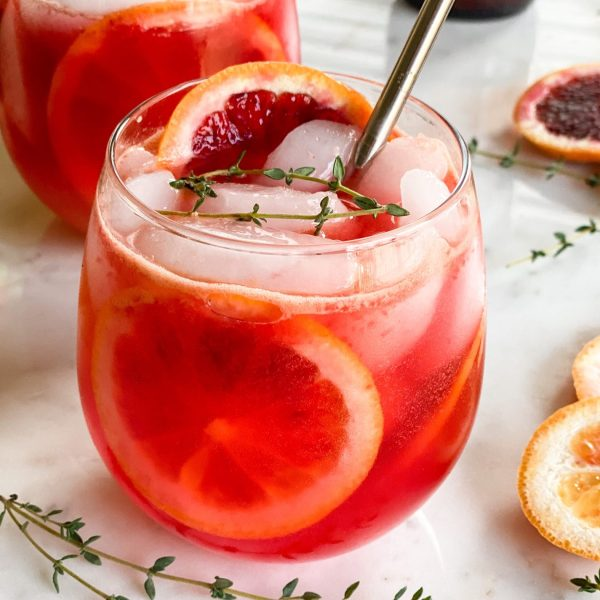 It's Thyme for Blood Orange Cocktail Season!!