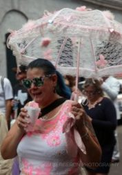 X lace umbrella