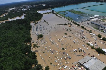 Baton Rouge flooding - U.S. Coast Guard photo