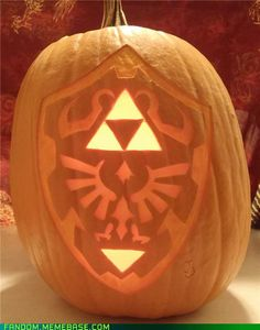 Hyrulian Shield Pumpkin