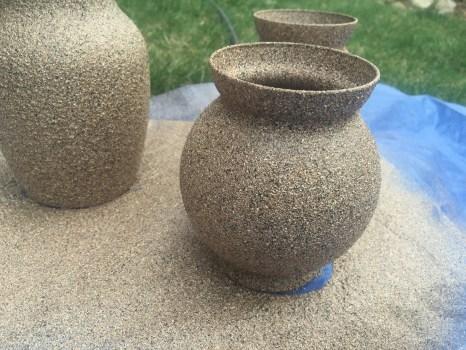 Fish bowl style vase