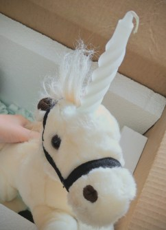 Unicorn with Candle Horn