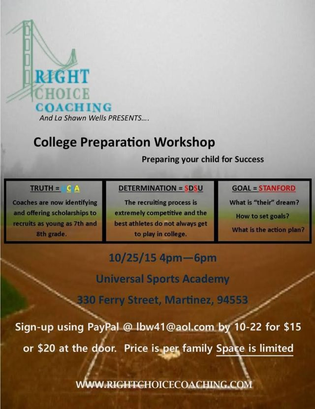 college prep workshop