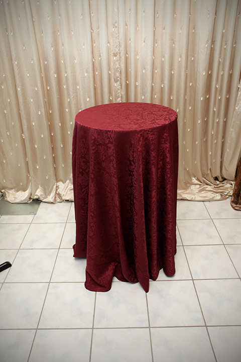 Burgundy Damask Tablecloth  Right Choice Linen