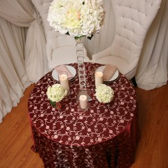 Pale Pink Chair Narrow Dining Room Chairs Burgundy & Gold Tablecloth | Right Choice Linen
