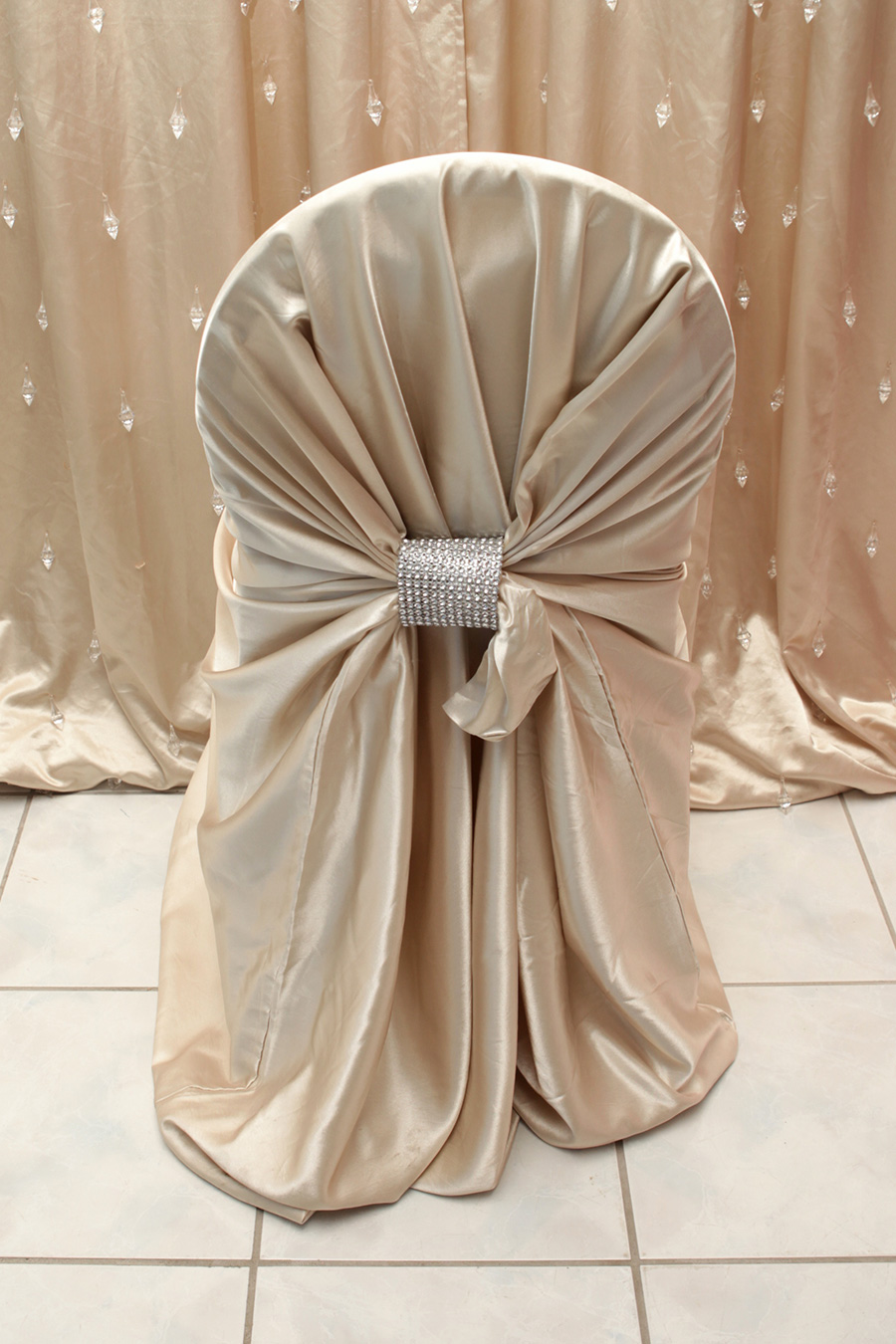 Champagne Chair Covers Champagne Satin Chair Cover Right Choice Linen
