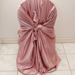 Chair Covers Pink Chairs For Soccer Games Satin Cover Right Choice Linen