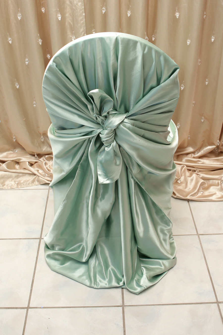 chair covers sage green big man office satin cover right choice linen