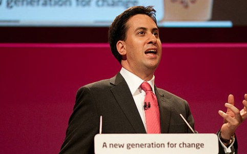 Ed Miliband conference speech in Manchester, September 2010
