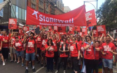 Stonewall at London Pride, 27 June 2015