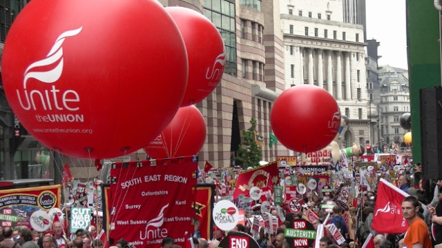 End Austerity Now, 20 June 2015 – Red Unite Balls