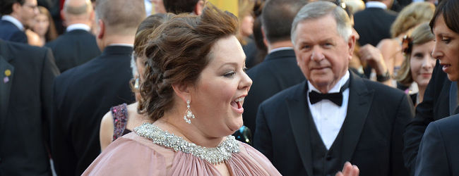 Melissa McCarthy at Academy Awards 2012, Mingle Media TV