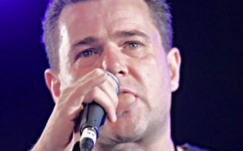 Mark Serwotka in June 2008 by Glastonbury Left Field