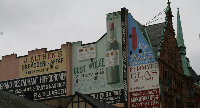 Advertising in Malmo, September 2007 by Mathias Klang