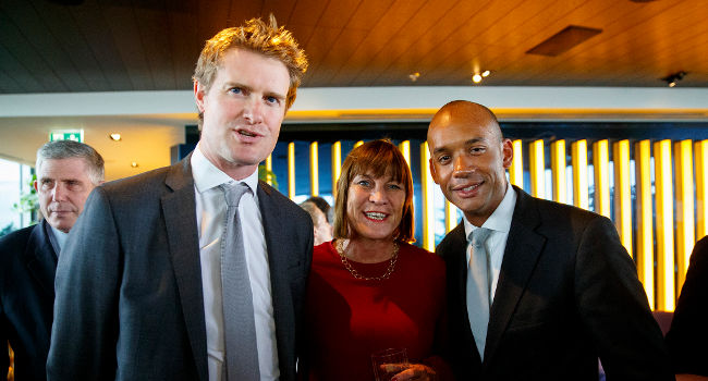 Chuka Umunna and Tristram Hunt, June 2015 by FT
