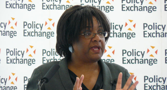 Diane Abbott, May 2012 by Policy Exchange