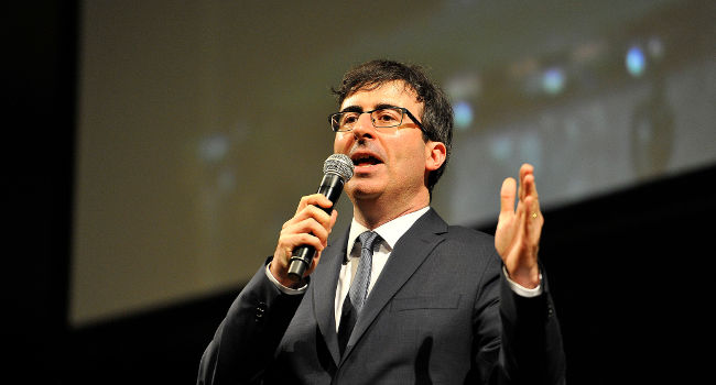 John Oliver, February 2014 by TechCrunch
