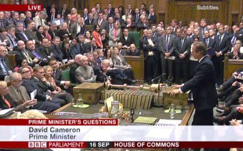 PMQs September 16 2015 via BBC Parliament