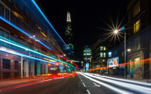 Southwark Street at Night, January 2013 by Marcus Holland-Moritz