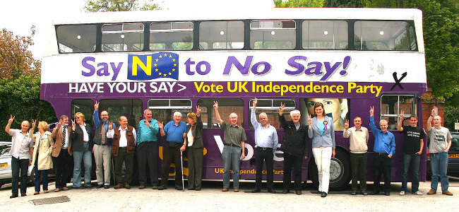 Ukip Bus, May 2009 by Euro Realist Newsletter