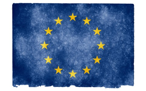 EU Grunge Flag, April 2012 by Nicolas Raymond